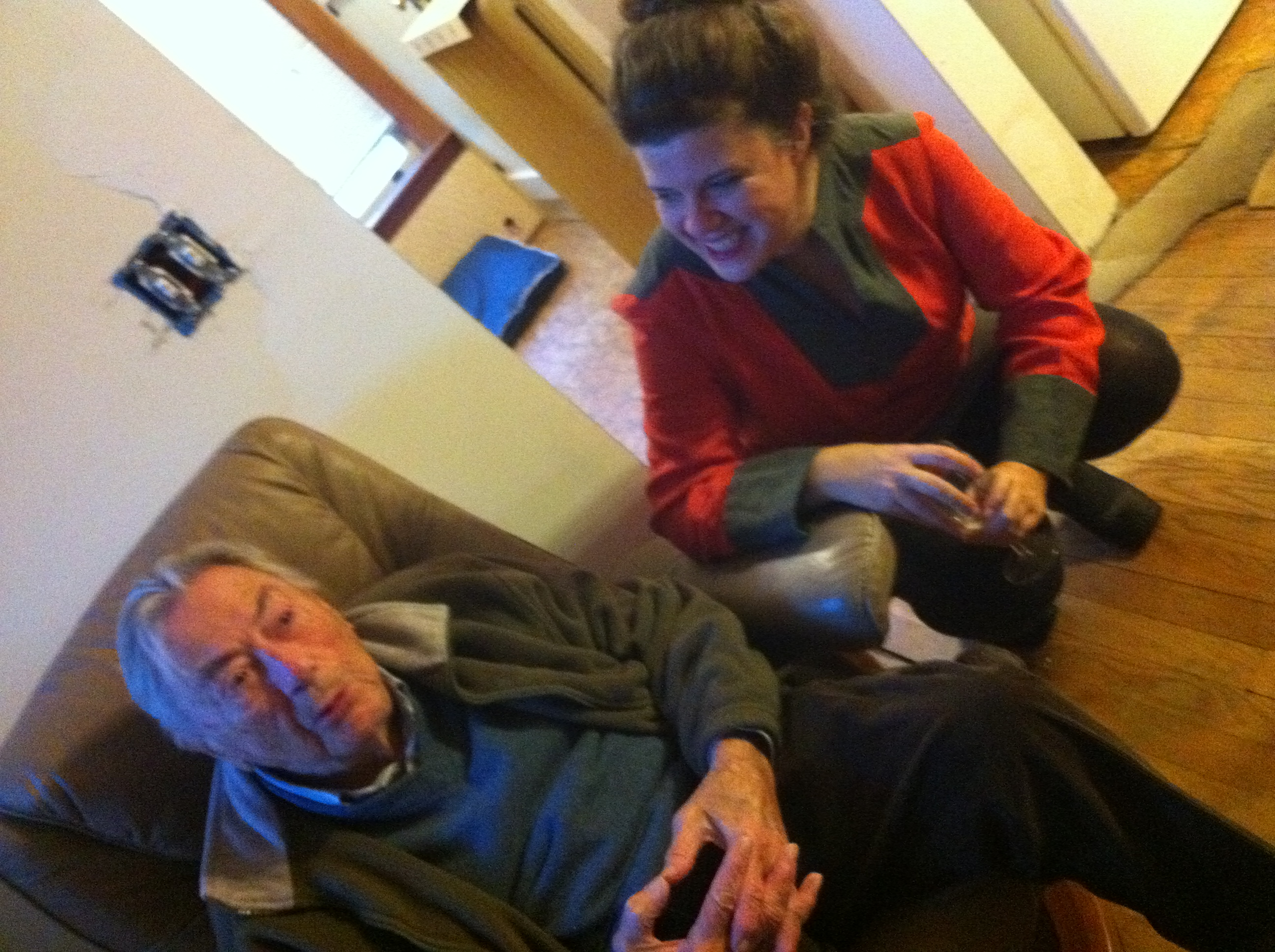 Granddad and Alison
