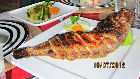 The best grilled fish I've ever tasted