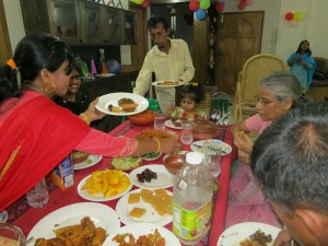 Isha's third-birthday Iftar party